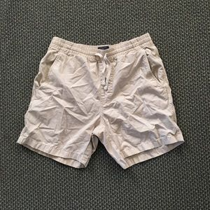 J Crew Dock Shorts Cream/ Off-white